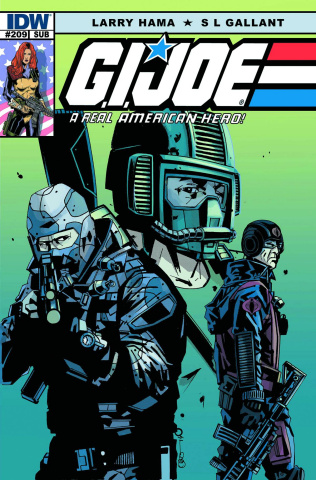 G.I. Joe: A Real American Hero #209 (Subscription Cover)