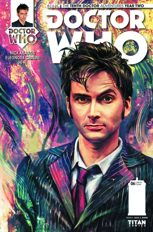 Doctor Who: New Adventures with the Tenth Doctor, Year Two #6 (Zhang Cover)