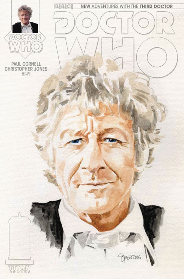 Doctor Who: New Adventures with the Third Doctor #1 (Myers Cover)