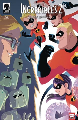 Incredibles 2: Slow Burn #3 (Kawaii Cover)