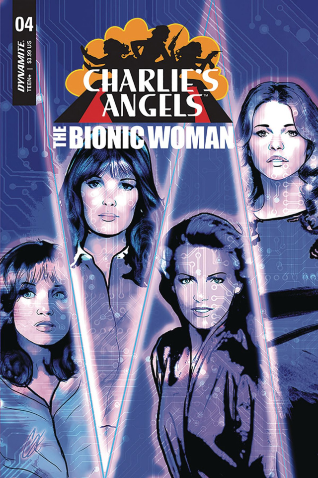 Charlie's Angels vs. The Bionic Woman #4 (Staggs Cover)