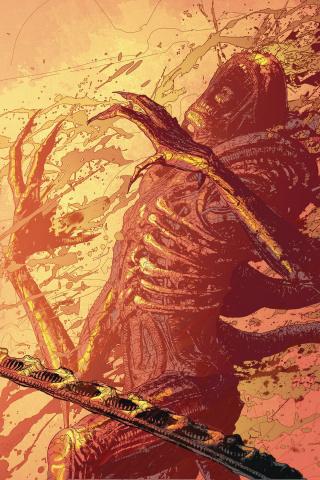 Aliens: Resistance #4 (Jones Cover)