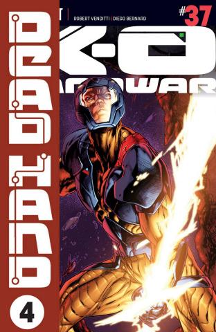 X-O Manowar #37 (Overlay Segovia Cover)