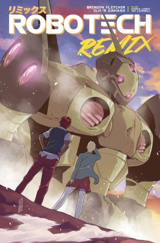 Robotech: Remix #3 (Damaso Cover)