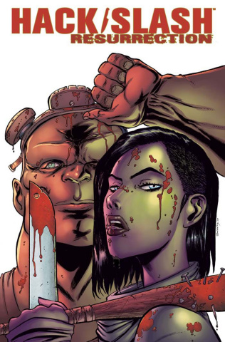 Hack/Slash: Resurrection #6 (Seeley Cover)
