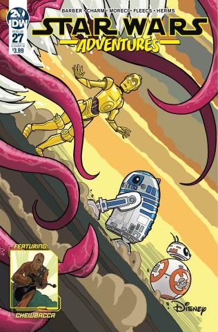 Star Wars Adventures #27 (Fleecs Cover)