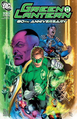 Green Lantern 80th Anniversary 100 Page Super Spectacular #1 (2000s Cover)