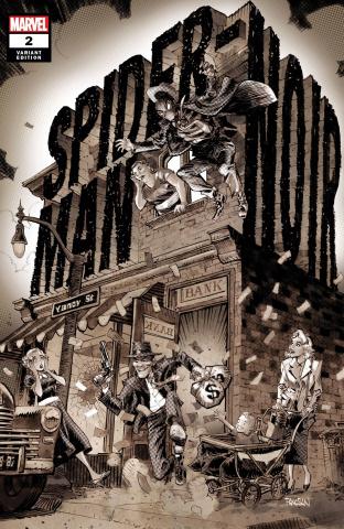 Spider-Man Noir #2 (Panosian Cover)