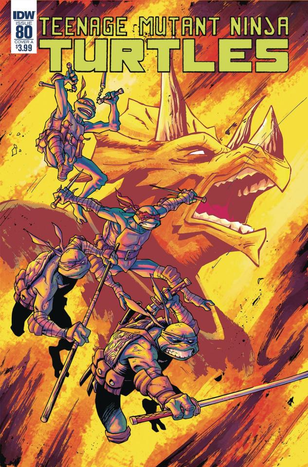Teenage Mutant Ninja Turtles #80 (Couceiro Cover)