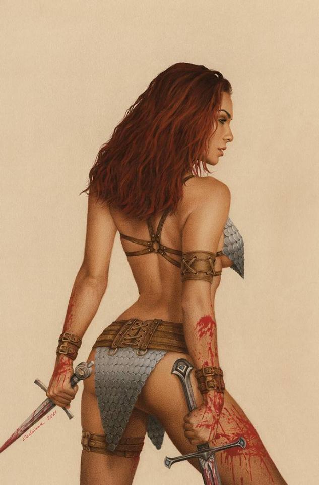 The Invincible Red Sonja #3 (Celina Virgin Cover)