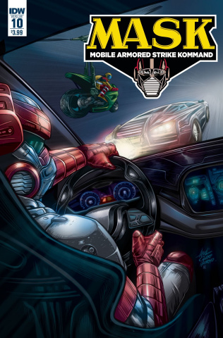 M.A.S.K.: Mobile Armored Strike Kommand #10 (Ciccero Cover)