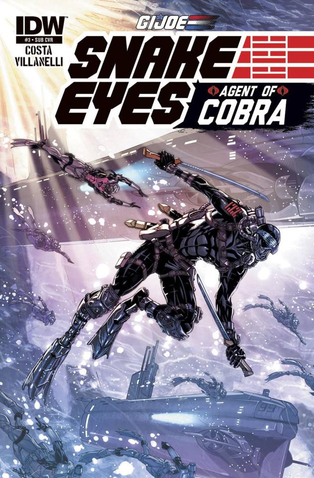 G.I. Joe: Snake Eyes - Agent of Cobra #3 (Subscription Cover)