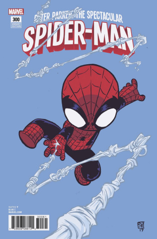 Peter Parker: The Spectacular Spider-Man #300 (Young Cover)