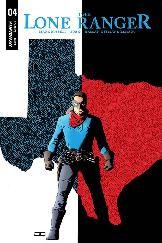 The Lone Ranger #4 (Cassaday Cover)