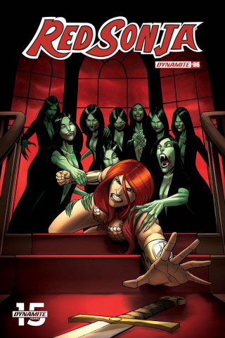 Red Sonja #6 (10 Copy Q Seduction Cover)