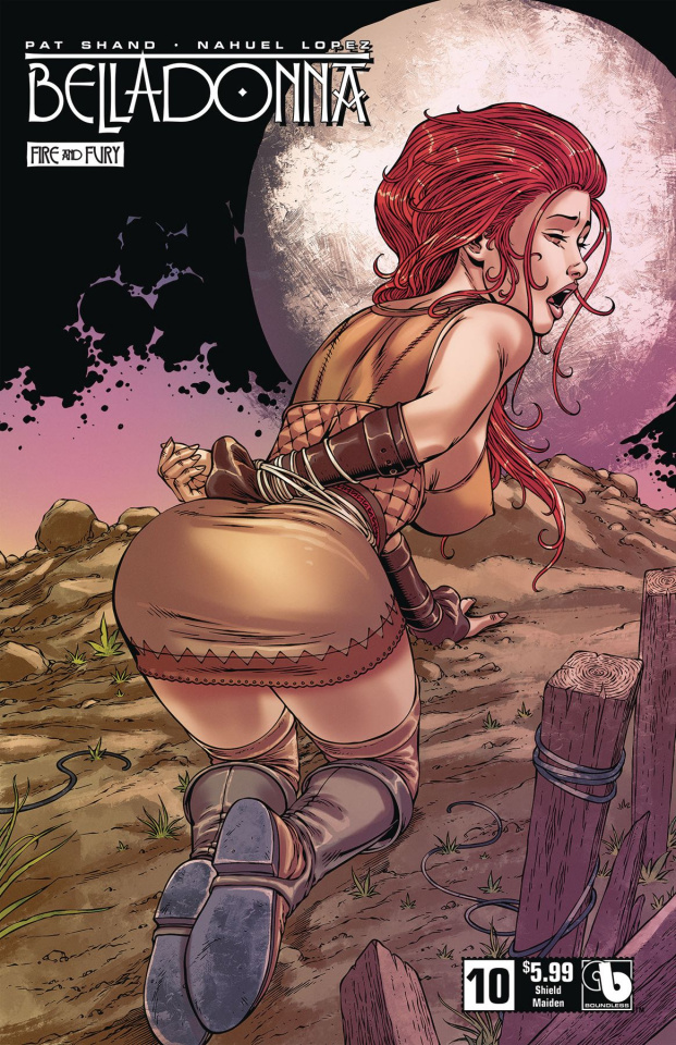 Belladonna: Fire and Fury #10 (Shield Maiden Cover)