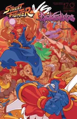 Street Fighter vs. Darkstalkers #7 (Huang Cover)