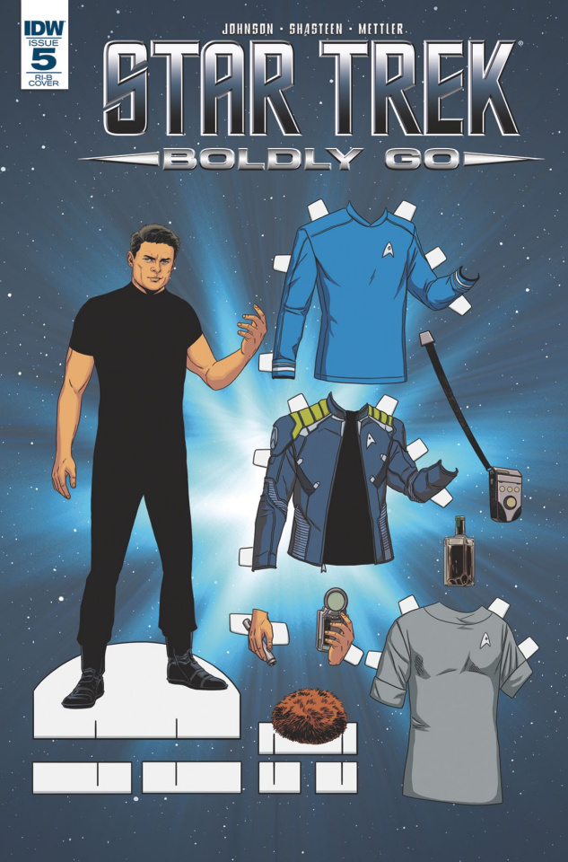 Star Trek: Boldly Go #5 (25 Copy Cover)