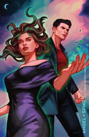 Angel & Spike #16 (Bowyer Cover)