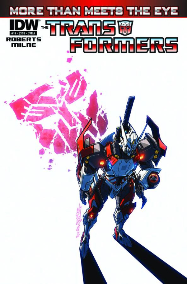 The Transformers: More Than Meets the Eye #16