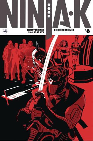 Ninja-K #6 (Zonjic Cover)