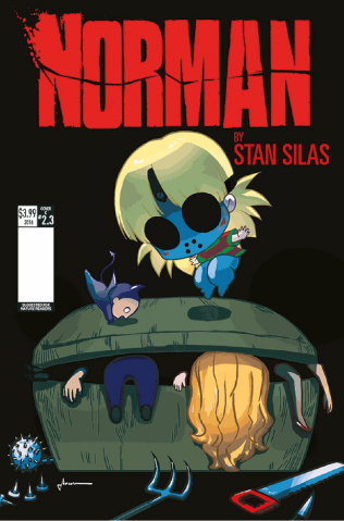 Norman: The First Slash #3 (Saohin Cover)