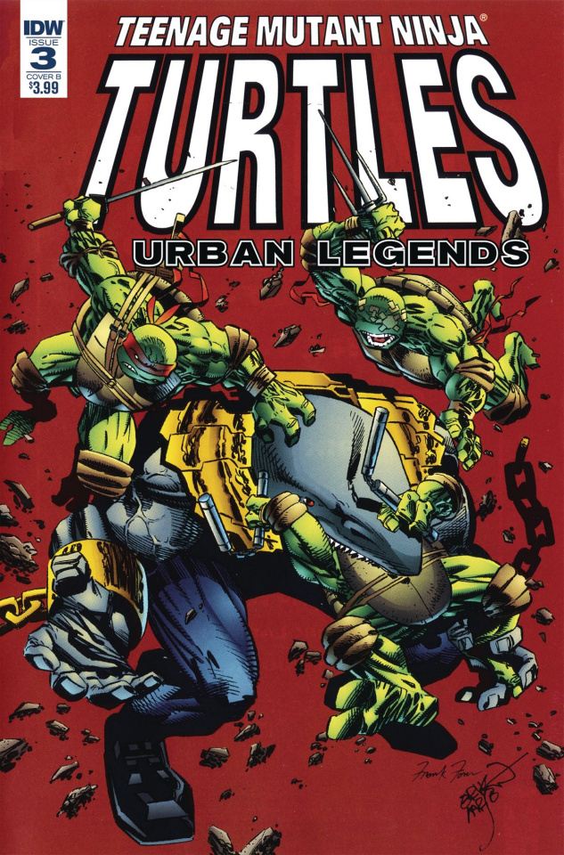 Teenage Mutant Ninja Turtles: Urban Legends #3 (Fosco Cover)