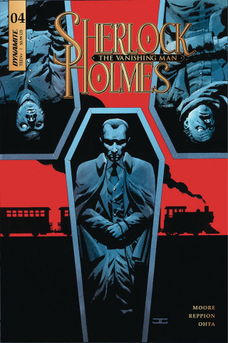 Sherlock Holmes: The Vanishing Man #4 (Cassaday Cover)