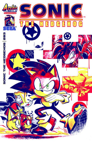 Sonic the Hedgehog #283 (Skelly Cover)