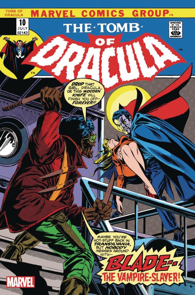 The Tomb of Dracula #10 (Facsimile Edition)