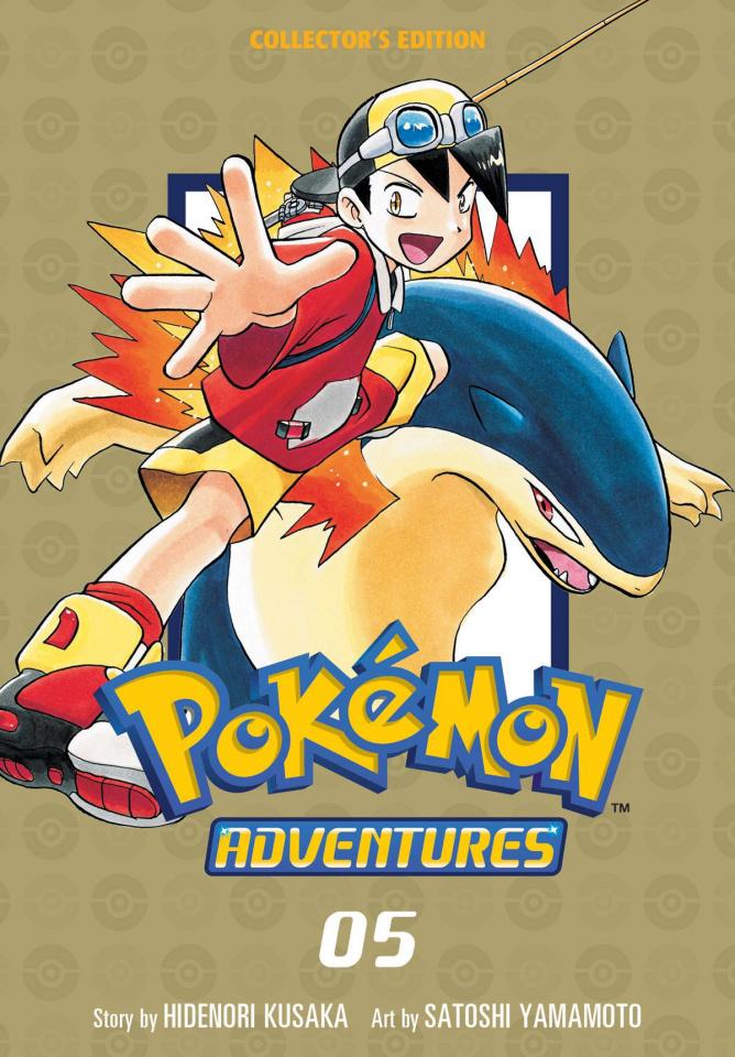 Pokémon Adventures Vol. 5 (Collectors Edition)