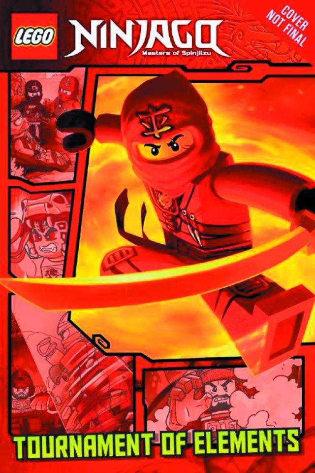 Lego Ninjago Vol. 1: Tournament of Elements