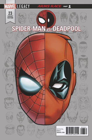 Spider-Man / Deadpool #23 (McKone Legacy Headshot Cover)