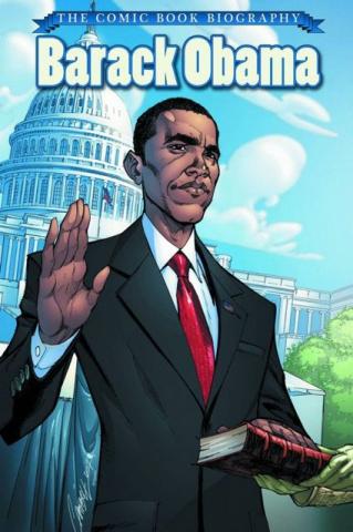 Barack Obama: The Comic Book Biography