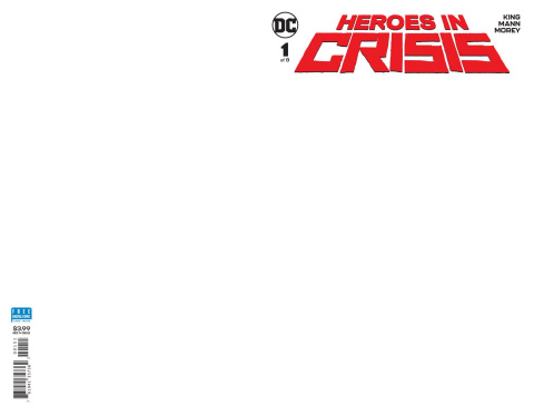 Heroes in Crisis #1 (Blank Cover)