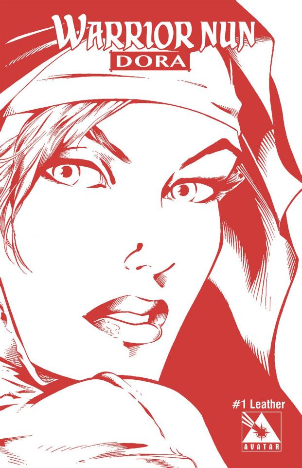 Warrior Nun Dora #1 (Crimson Nun Leather Cover)