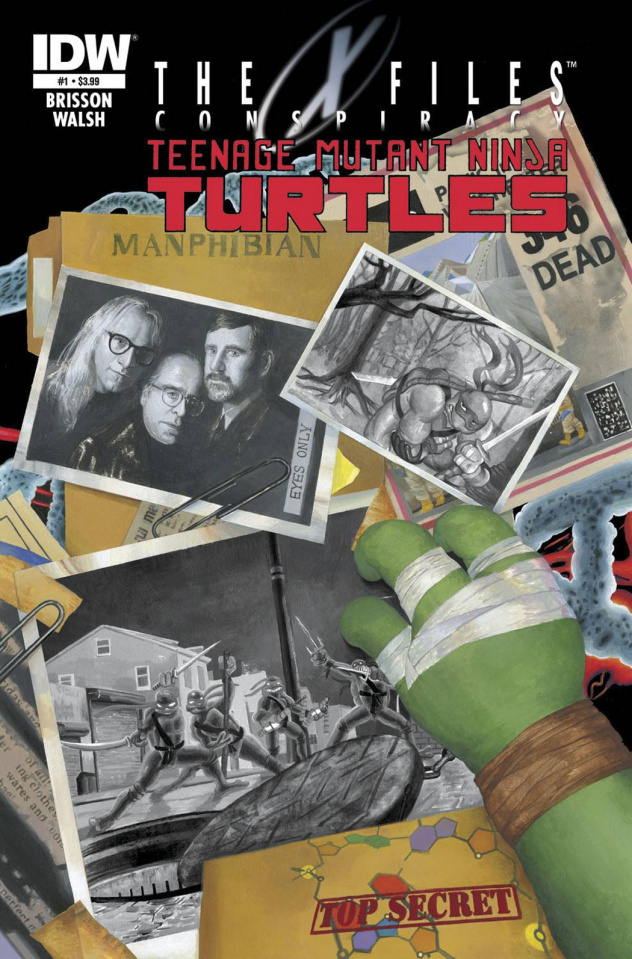 The X-Files Conspiracy: Teenage Mutant Ninja Turtles #1