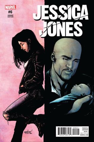 Jessica Jones #6 (Marquez Cover)