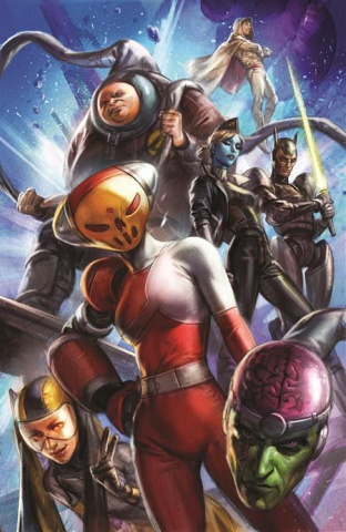 Future State: Legion of Super-Heroes #2 (Ian MacDonald Card Stock Cover)