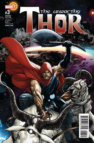The Unworthy Thor #3 (Sook Cover)