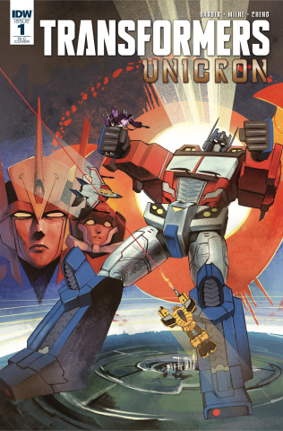 The Transformers: Unicron #1 (50 Copy Pitre Durocher Cover)