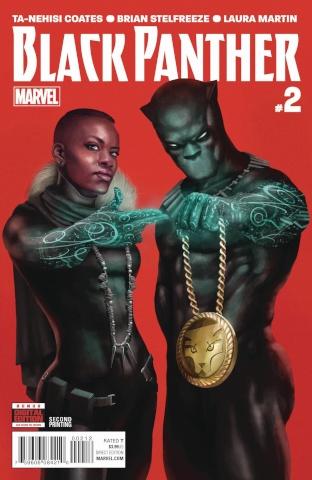 Black Panther #2 (Rahzzah Run Jewels 2nd Printing)