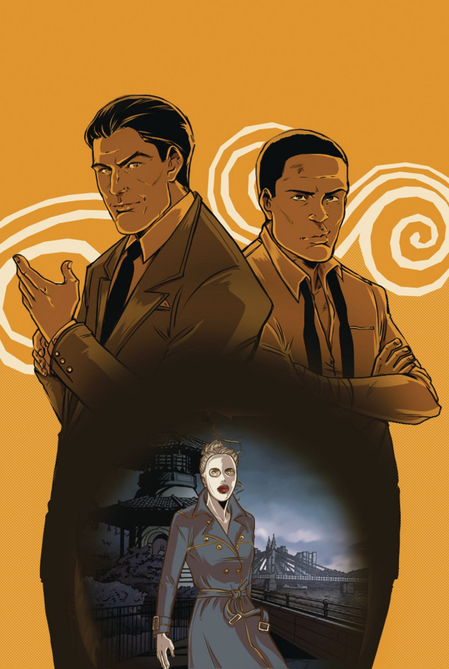 Rivers of London: Detective Stories #1 (Vieceli Cover)