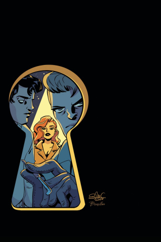 Nancy Drew and The Hardy Boys #3 (30 Copy Charretier Virgin Cover)