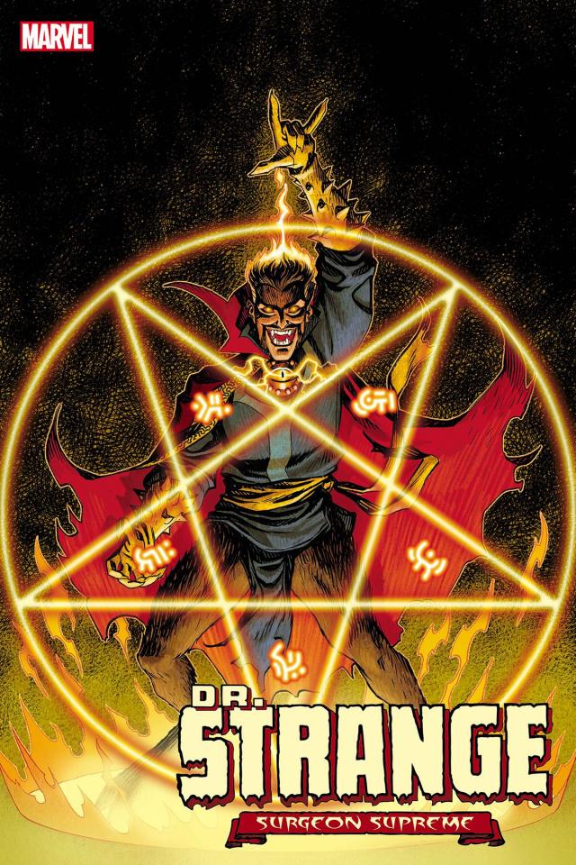 Dr. Strange #6 (Johnson Dark Marvel Cover)