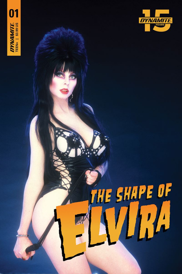 The Shape of Elvira #1 (CGC Graded Photo Cover)