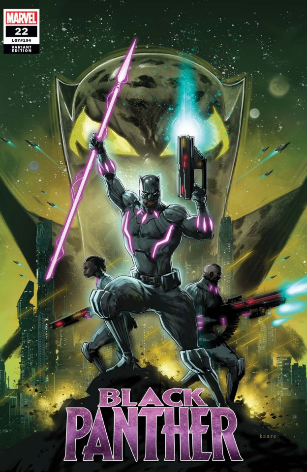 Black Panther #22 (Andrews Cover)