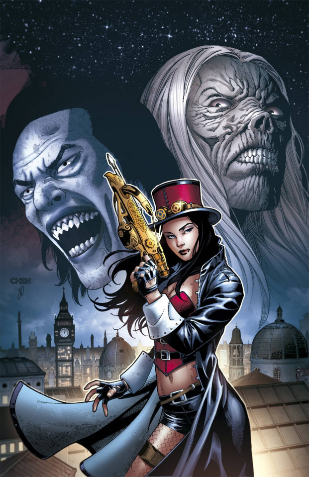Grimm Fairy Tales: Van Helsing #6: 10th Anniversary Special (Chen Cover)