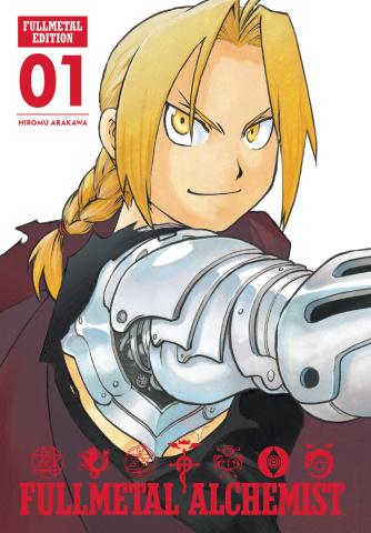 Fullmetal Alchemist Vol. 1 (Fullmetal Edition)