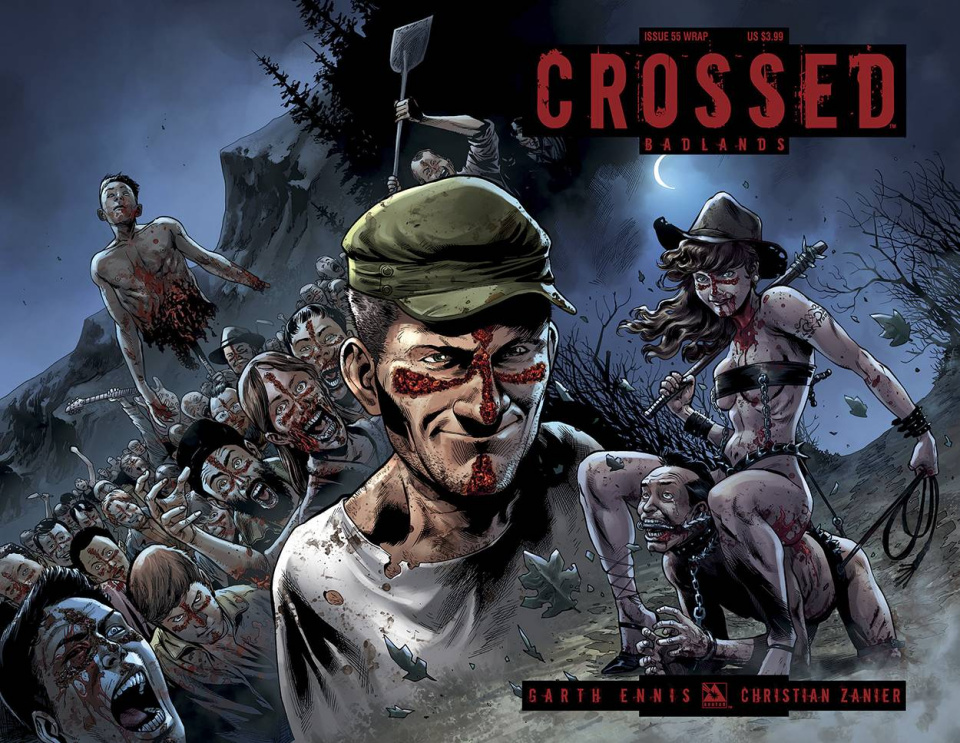 Crossed: Badlands #55 (Wrap Cover)